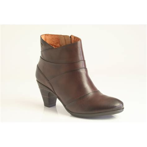 pikolinos siena ankle boot 916 9427 in olmo brown leather