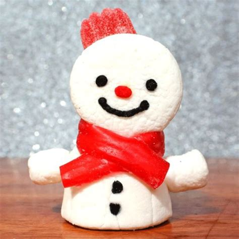 easy crafts for marshmallow snowmen how to make marshmallow snowmen how to make