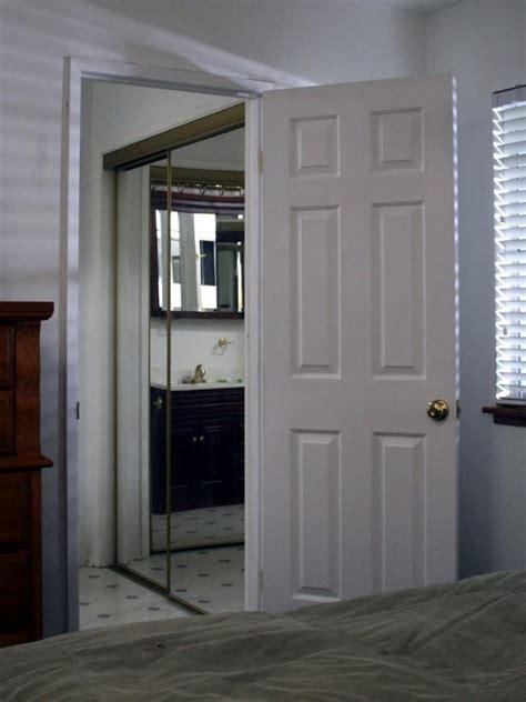 replace doors replacing a pocket door with a swinging door hgtv