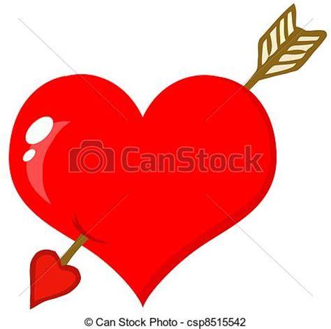 imagenes de corazones con flechas ilustraciones de vectores de perforado coraz 243 n flecha