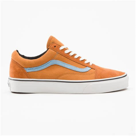 Vans California Blue Canvas vans orange