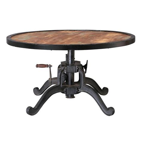 Home Decorators Table | home decorators collection industrial 36 in round