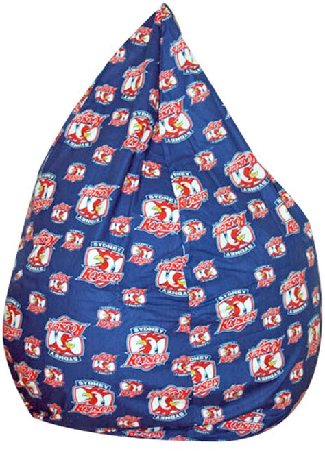 Bean Bags Sydney Sydney Roosters Bean Bag Cover Sydney Roosters Nrl