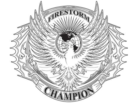 wwe chion belt coloring page coloring pages