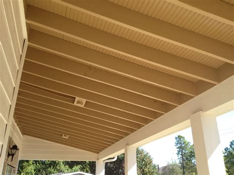 Exposed Rafter Ceiling | ceilings in houston texas