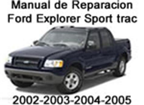 where to buy car manuals 2005 ford explorer on board diagnostic system 2002 2005 ford explorer sport trac manual de reparacion y mecanica
