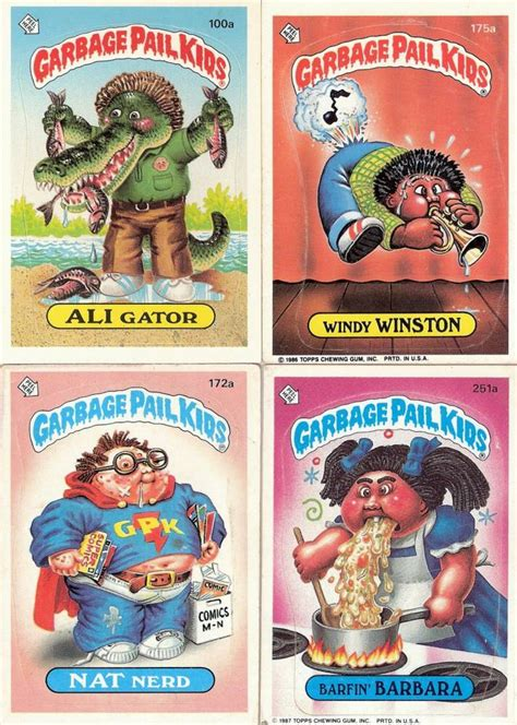 Garbage Pail Pictures 30 facts from 30 years of the gross garbage pail