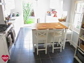 ikea stenstorp kitchen island and ingolf bar stools in
