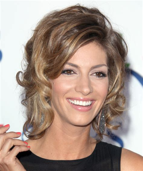 Dawn Olivieri Hairstyles | dawn olivieri short curly formal hairstyle medium