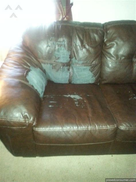 leather couch peeling best 25 ashley furniture reviews ideas on pinterest