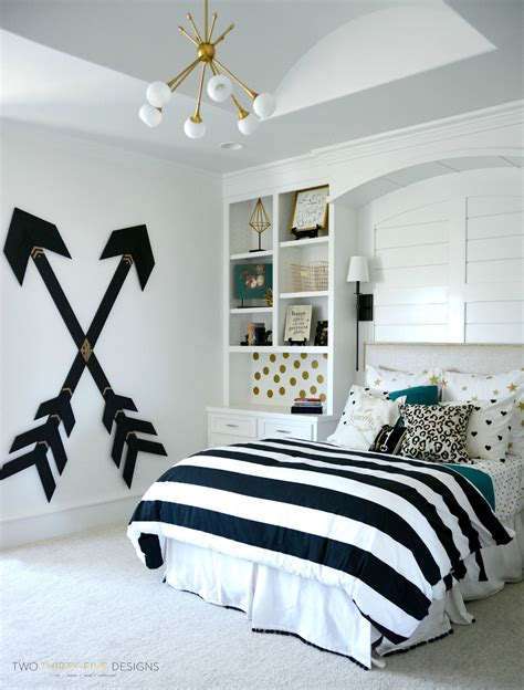 bedroom project diy room decor black white gold and bedroom ideas
