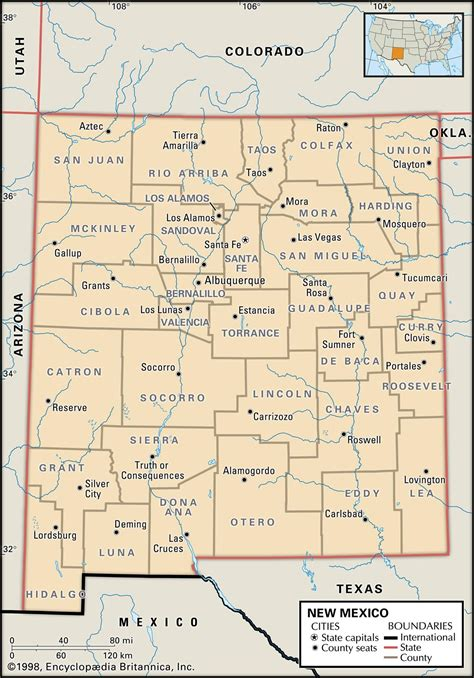 nm map state and county maps of new mexico
