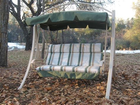 glider swing canopy replacement replacement canopy and cushion cover for costco patio