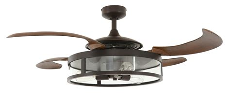 retractable blade ceiling fan retractable blade ceiling fan fanaway bronze