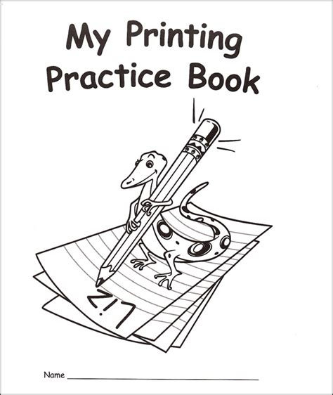 my rainbow books my own books my printing practice book traditional
