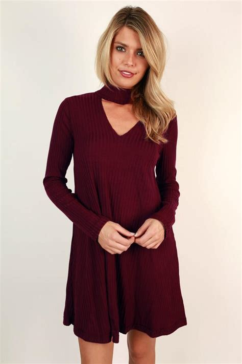 Sweater Lp Only You 1 the one and only sweater dress in wine impressions boutique