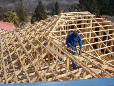 timber roof construction types site made trusses vs pre manufactured trusses the facts