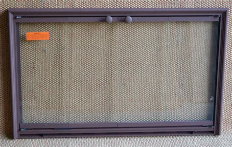 Rust Fireplace by 34x21 Inch Rust Shadow 3 Sided Fireplace Door