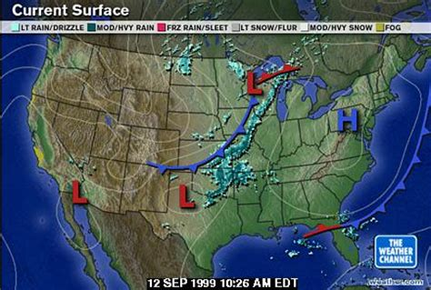 weather map of us ch2 f99