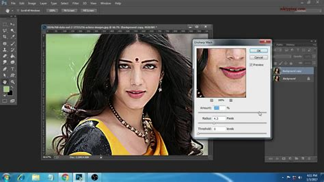 adobe photoshop tamil tutorial how to use the blur sharpen and smudge tool adobe