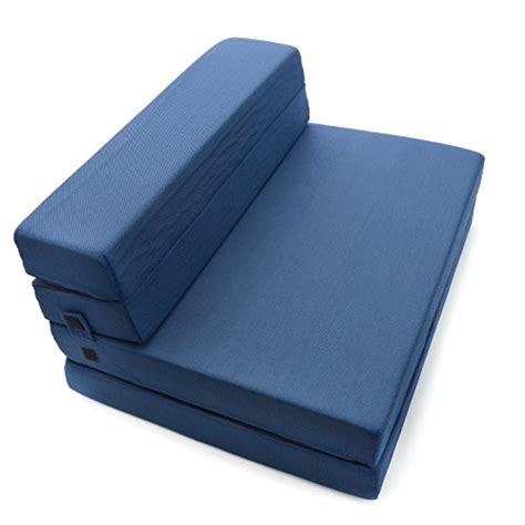 3 Fold Sofa Bed Mattress Milliard Tri Fold Foam Folding Mattress And Sofa Bed For Guests Or Floor Mat Xl 78x38x4 189