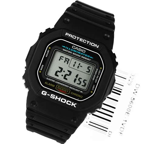Casio G Shock Dw 5600e 1 casio dw 5600e 1vdf g shock digital mens