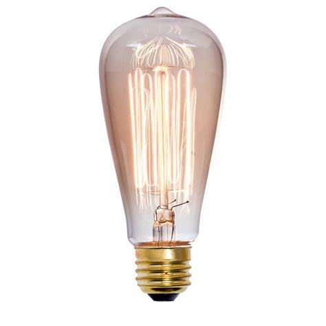 decorative light bulbs medium base shop litex vintage 60 watt medium base e 26 base warm