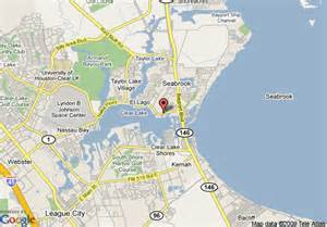 seabrook map map of inn express hotel suites houston seabrook