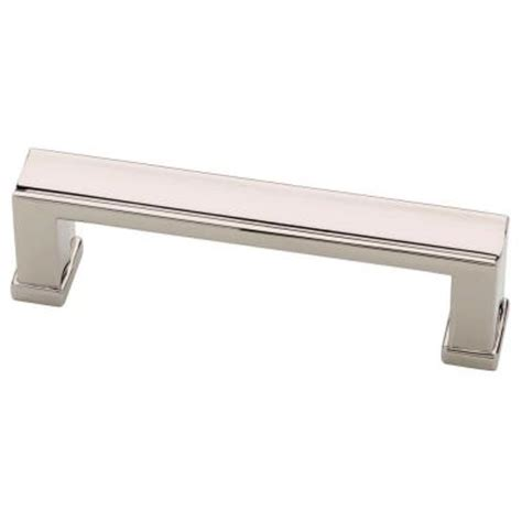 Home Depot Kitchen Pulls by Martha Stewart Living 3 In 76mm Polished Nickel Channel