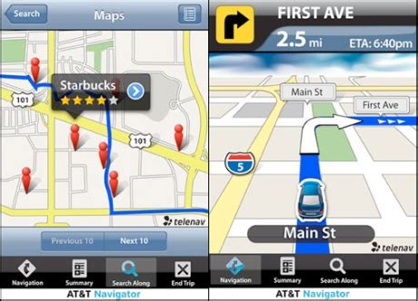 Gps App At T Releases Iphone Gps App Ign