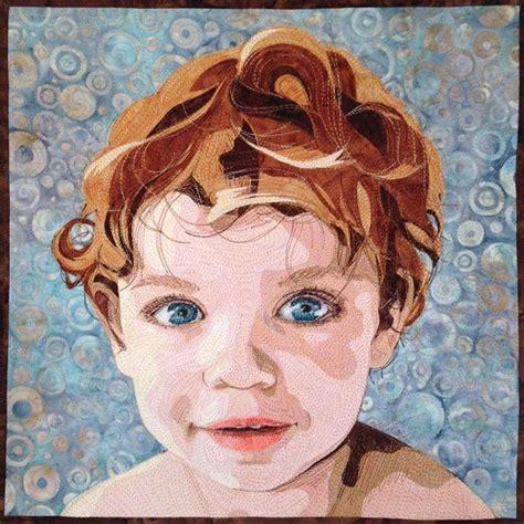 Portrait Quilts by 1000 Ideas About Fiber Quilts On