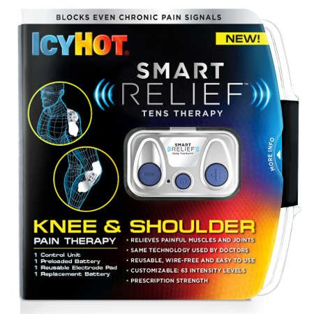icy hot tens patch icy hot smart relief tens therapy knee and shoulder
