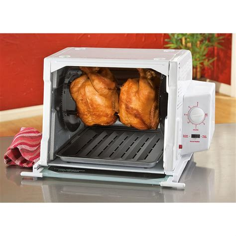 ronco rotisserie ronco showtime 3000 series rotisserie bbq 220200 kitchen appliances at sportsman s guide
