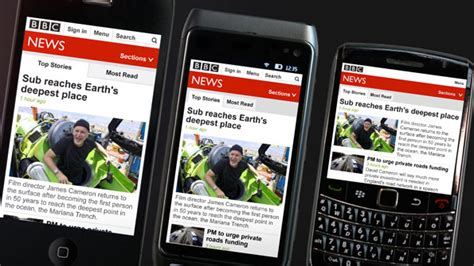 mobile news news on mobile site refresh