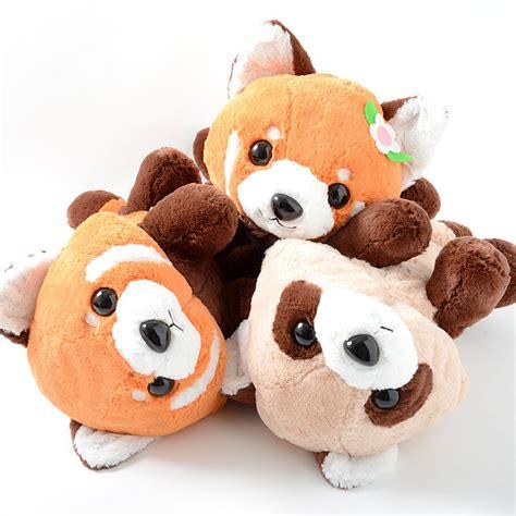 lesser panda  akachan red panda plush collection big