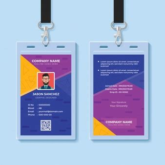 Cr8030 Id Card Photoshop Template by Id Badge Vectors Photos And Psd Files Free