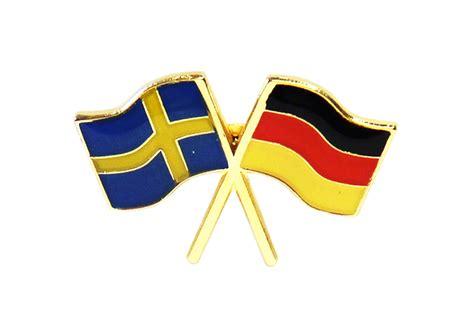 pin med flaggorna sverige tyskland