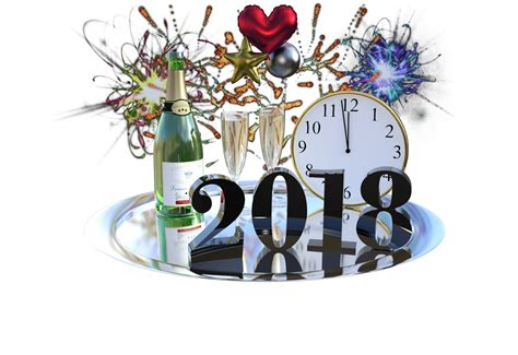 happy new year png clock png transparent