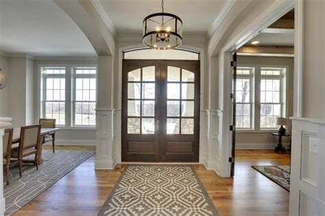 Foyer Model entryway kintyre model 2015 parade of homes transitional entry minneapolis by