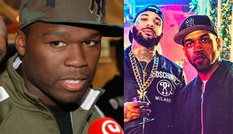 50 cent lloyd banks 50 cent calls out lloyd banks for taking photo with the