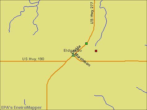 el dorado texas map eldorado texas tx 76936 profile population maps real estate averages homes statistics