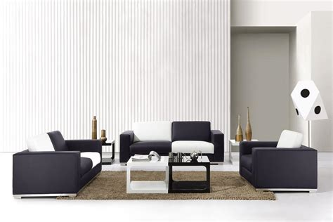 Living Room White And Black by Black And White Living Room Furniture Modern House