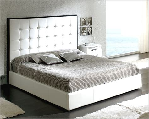 modern style beds white platform bed sevilla in modern style made in spain 33b272
