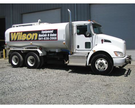2011 kenworth trucks for sale 2011 kenworth t370 water truck for sale central point