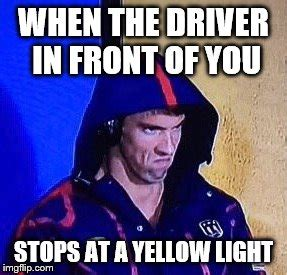 Yellow Meme - stop at yellow light imgflip