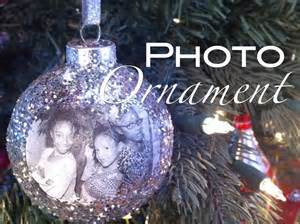 how to make a photo ornament christmas holiday gift nik