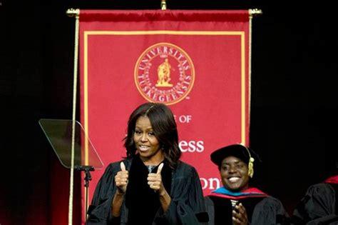 conservative graduation song obama tells black graduates to soar