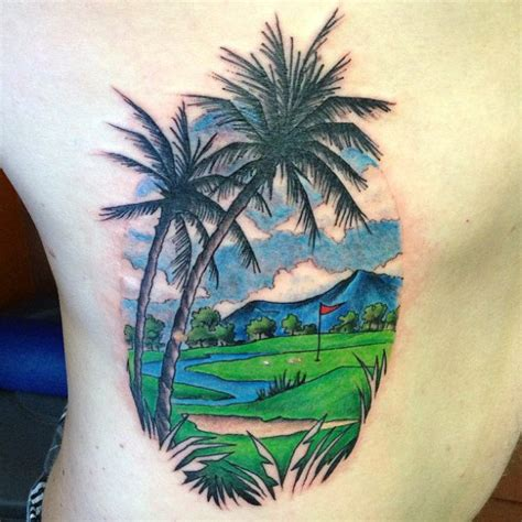 tattoo design course 40 golf tattoos for men manly golfer designs