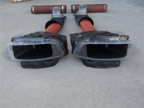 foglight brake duct fabrication  bowtieguy chevy