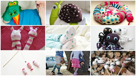 sock crafts 10 simple sock crafts for